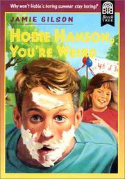 Hobie Hanson, You're Weird PDF