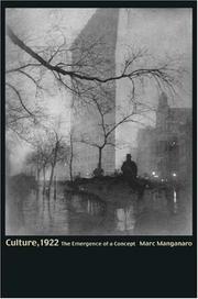 Culture, 1922 PDF
