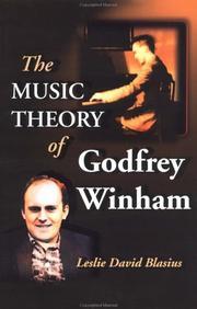 The music theory of Godfrey Winham