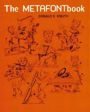 The METAFONTbook by Donald Knuth