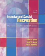Inclusive and special recreation by Ralph W. Smith