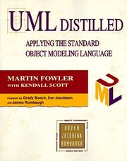UML distilled by Martin Fowler