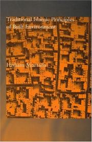 Traditional Islamic principles of built environment by Hisham Mortada