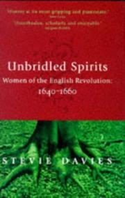 Unbridled spirits PDF