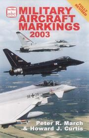 Military aircraft markings by Peter R. March