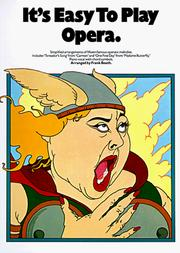 It's Easy To Play Opera (It's Easy to Play) PDF