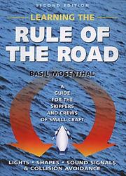 Learning the Rule of the Road PDF