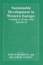 Sustainable Development in Western Europe PDF