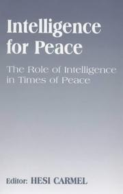 Intelligence for Peace PDF