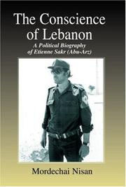 The Conscience of Lebanon by Mordechai Nisan