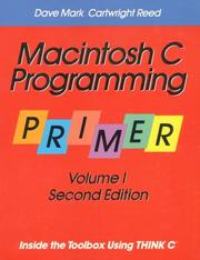 Macintosh C programming primer by Dave Mark