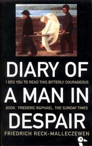 Diary of a Man in Despair by Friedrich Reck-Malleczewen