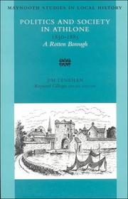 Politics and Society in Athlone, 1830-1885 by Jim Lenehan