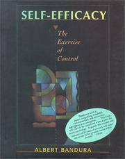 Self-efficacy by Albert Bandura