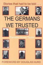 The Germans We Trusted PDF