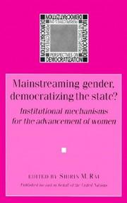 Mainstreaming gender, democratizing the State? PDF