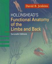 Hollinshead&#39;s functional anatomy of the limbs and back by Jenkins, David B.