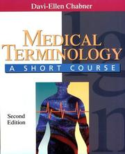 Medical terminology by Davi-Ellen Chabner