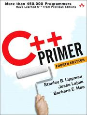 C++ primer by Stanley B. Lippman