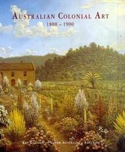 Australian colonial art, 1800-1900 by Ron Radford