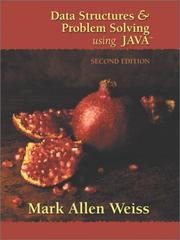 Data structures & problem solving using Java PDF