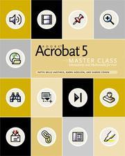 Adobe Acrobat 5 master class PDF