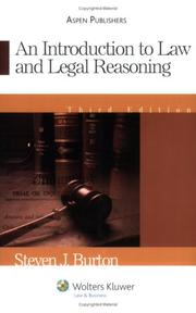 Introduction to Law & Legal Reasoning PDF