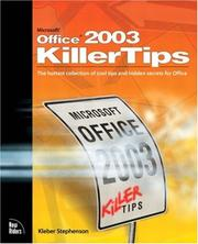 Microsoft Office 2003 killertips by Kleber Stephenson