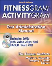 Fitnessgram/Activitygram Test Administration Manual