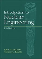 Introduction to nuclear engineering PDF