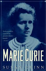Cover of: Marie Curie by Susan Quinn