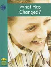 What Has Changed? (Yellow Umbrella Books) PDF