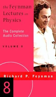 The Feynman lectures on physics by Richard Phillips Feynman