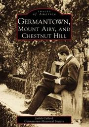 Germantown, Mount Airy and Chestnut Hill PDF