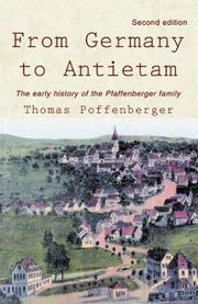 From Germany to Antietam by Thomas Poffenberger