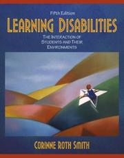 Learning disabilities by Corinne Roth Smith