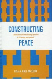 Constructing peace PDF
