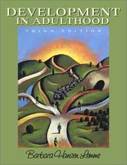Development in adulthood by Barbara Hansen Lemme
