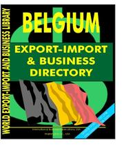 Belgium Export-Import and Business Directory PDF