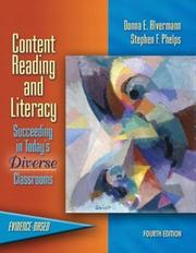 Content reading and literacy by Donna E. Alvermann