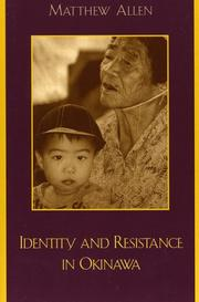 Identity and Resistance in Okinawa PDF