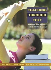 Teaching through text by Michael C. McKenna