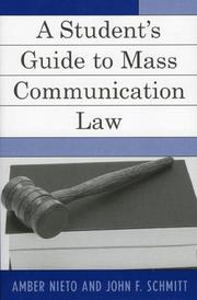 A Student's Guide to Mass Communication Law PDF