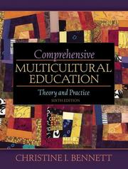 Cover of: Comprehensive Multicultural Education by Christine I. Bennett