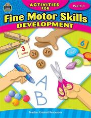 Activities for Fine Motor Skills Development PDF