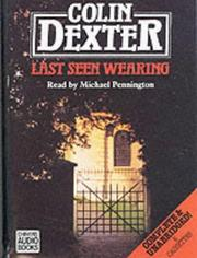 Cover of: Last Seen Wearing by Colin Dexter