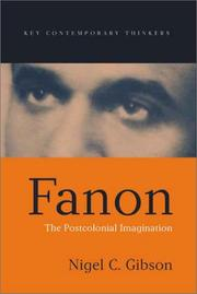 Fanon by Nigel C. Gibson