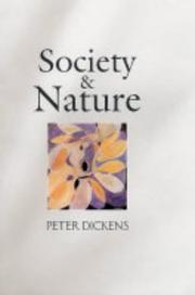 Society and nature PDF