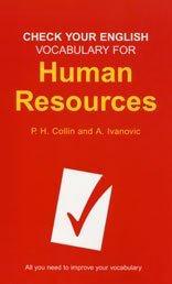 Check Your English Vocabulary for Human Resources (Check Your English Vocabulary) PDF