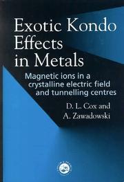 Exotic Kondo Effects in Metals